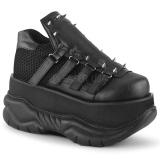 Vegan 7,5 cm NEPTUNE-50 Mens Gothic Demonia Shoes