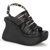 Vegano 11,5 cm Demonia PACE-33 sandali con plateau lolita