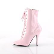 Vegano 13 cm SEDUCE-1020 stivali alla caviglia con tacco per trans