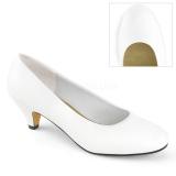 Vegano 6 cm FEFE-01 scarpe décolleté da uomo bianco