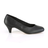 Vegano 6 cm FEFE-01 scarpe décolleté da uomo nere