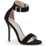 Velluto 13 cm Pleaser AMUSE-10 sandali tacchi a spillo