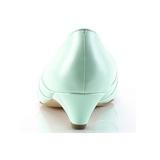 Verde 4 cm retro vintage LULU-05 Pinup scarpe décolleté con tacchi bassi