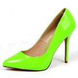 Verde Neon 13 cm AMUSE-20 scarpe tacchi a spillo con punta