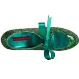 Verde Scintillare 14,5 cm Burlesque TEEZE-10G Platform Calzature Décolleté