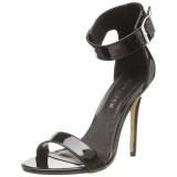 Verniciata 13 cm Pleaser AMUSE-10 sandali tacchi a spillo