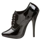 Verniciata 15 cm DOMINA-460 scarpe oxford con tacchi