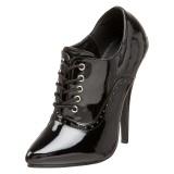 Verniciata 15 cm DOMINA-460 tacco alto scarpe oxford uomo