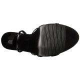 Verniciata 15 cm Devious DOMINA-108 sandali tacchi a spillo