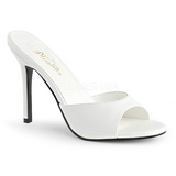 White 10 cm CLASSIQUE-01 womens mules shoes