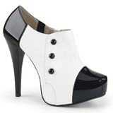 White Patent 13,5 cm CHLOE-11 big size pumps shoes