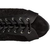 tessuto del merletto 15 cm DELIGHT-3025ML plateau suola stivali alti lunghi