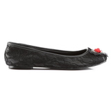 tessuto del merletto STAR-25 scarpe gotico ballerine tacco basso