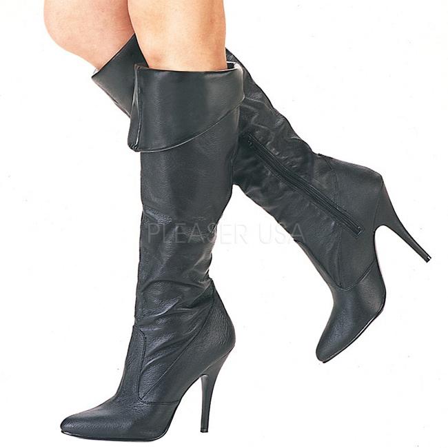 VANITY-2013 Stivali con tacchi a spillo pleaser pelle taglie 37 - 38